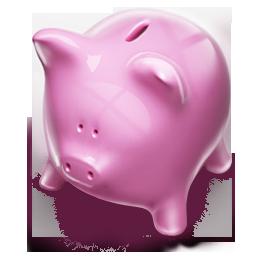 Sparschwein Scheidung  - Scheidungskosten