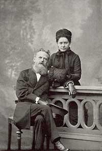 Gustav von Bohlen und Halbach mit Ehefrau Sophie