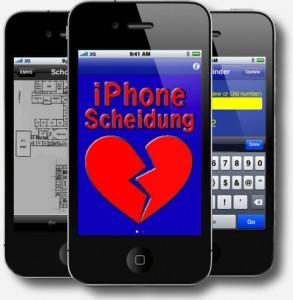 iPhone Scheidung
