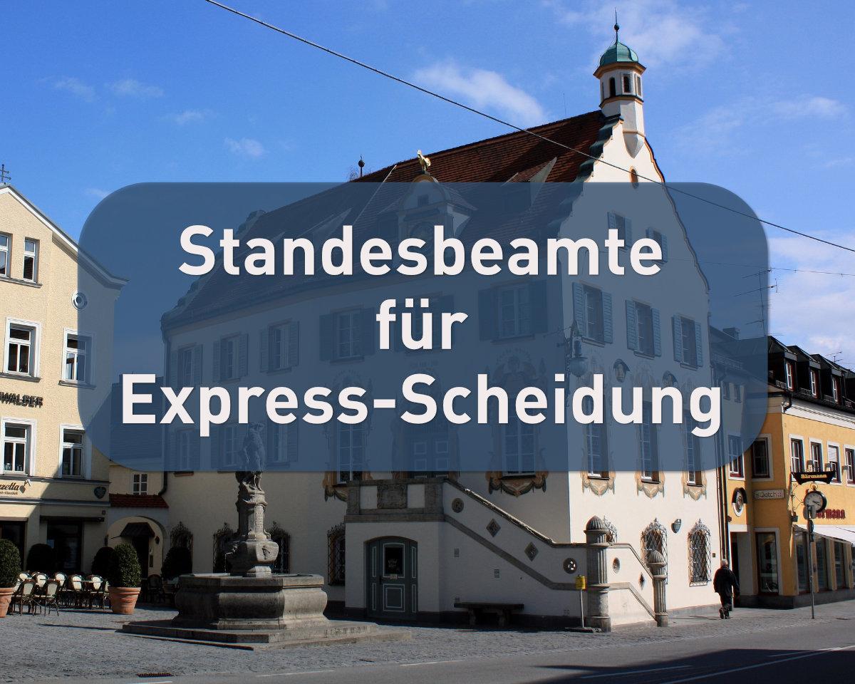 Standesbeamte fordern Express-Scheidung