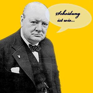 Zitat Churchill Scheidung